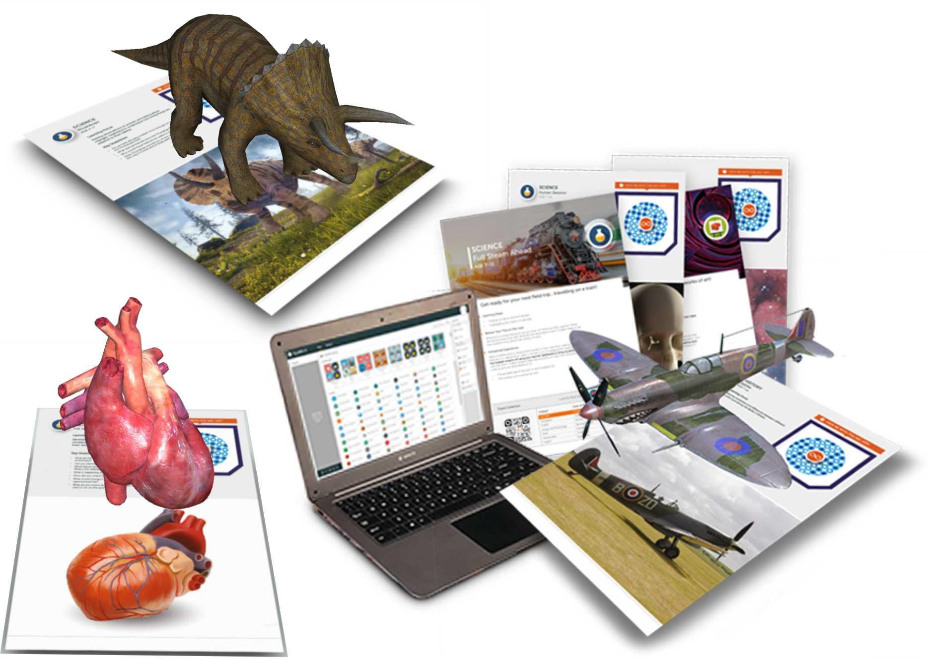 Conținut și Resurse pentru Realitatea Augmentată