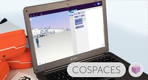 Utilizarea CoSpaces împreună cu ClassVR
