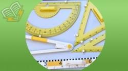 Instrumente geometrice pentru tabla