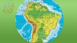 harta geografica a americii de sud
