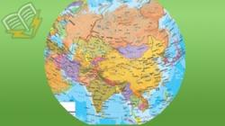 harta geografica a asiei