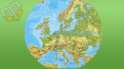harta geografica a europei