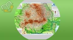 harta geografica a romaniei