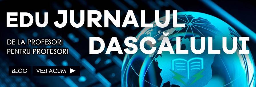 Blog Edu JURNALUL DASCALULUI